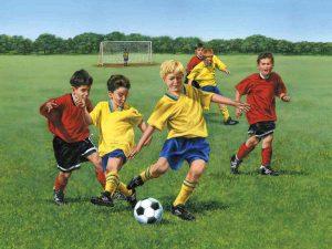 Soccer Game 10.5' x 8' (3,20m x 2,44m)