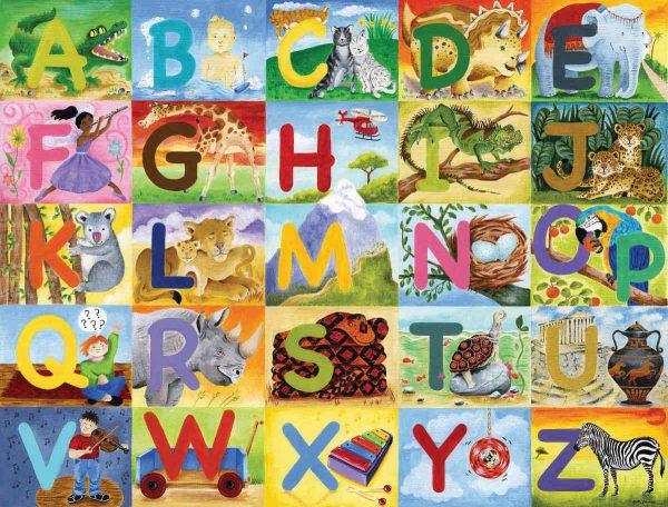 Alphabet 10.5' x 8' (3,20m x 2,44m)
