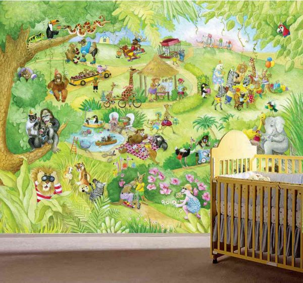 Leonard at the Zoo 10.5' x 8' (3,20m x 2,44m)