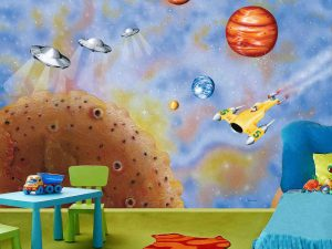 Fly to the Moon 10.5' x 8' (3,20m x 2,44m)