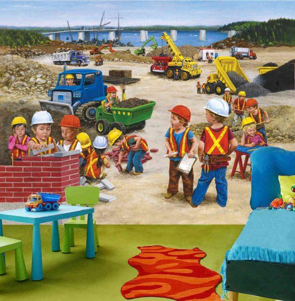 Construction Site 10.5' x 8' (3,20m x 2,44m)