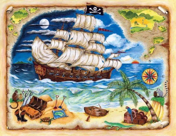 Pirate Ship 10.5' x 8' (3,20m x 2,44m)