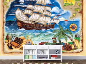 Pirate Ship 10.5' x 8' (3,20m x 2,44m)