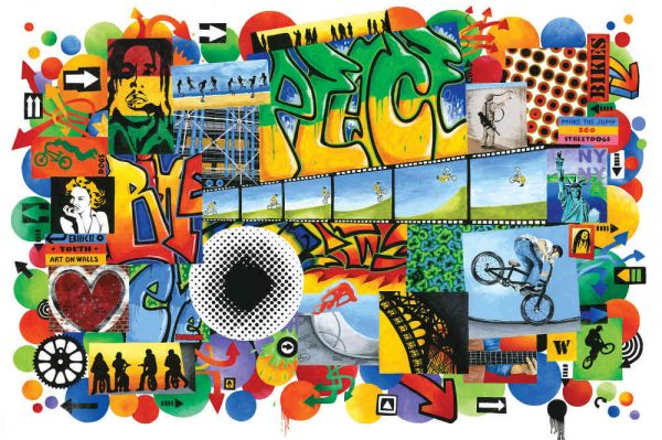 Peace 12' x 8' (3,66m x 2,44m)
