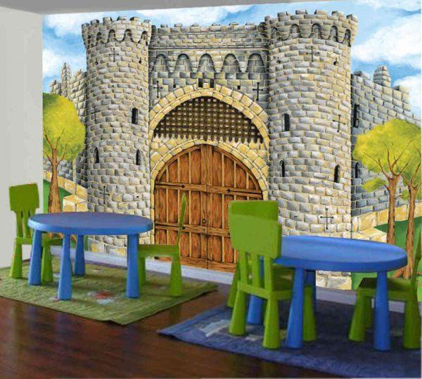 Medieval Castle 10.5' x 8' (3,20m x 2,44m)