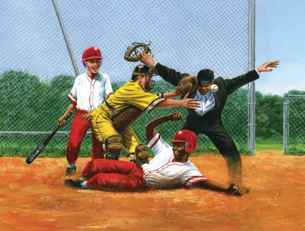 Safe at the Plate 10.5' x 8' (3,20m x 2,44m)