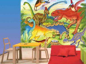 Dinosaurs 10.5' x 8' (3,20m x 2,44m)