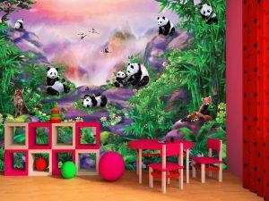 Pandas 10.5' x 8' (3,20m x 2,44m)