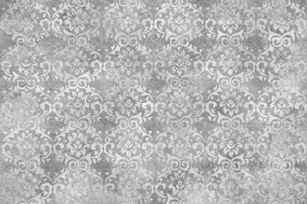Faux Damask Grey  12' x 8' (3,66m x 2,44m)