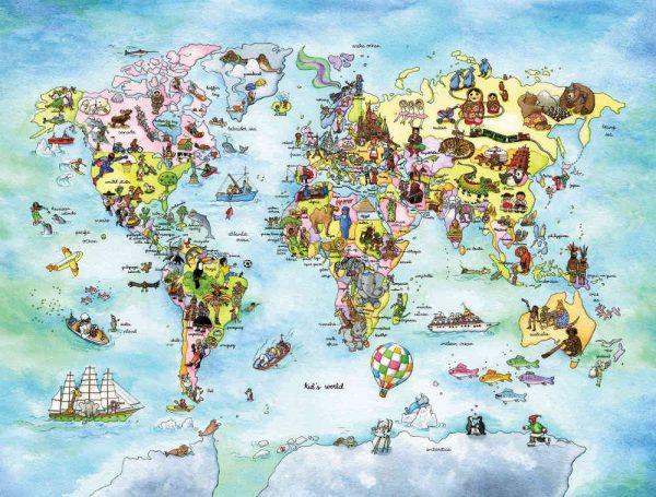 Kids World (English Version) 10.5' x 8' (3,20m x 2,44m)