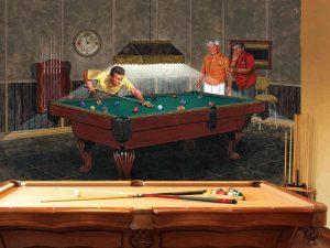 Pool Room 10.5' x 8' (3,20m x 2,44m)