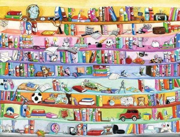 Bookcase 10.5' x 8' (3,20m x 2,44m)
