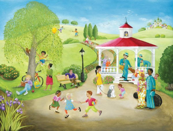 Holiday at the Park 10.5' x 8' (3,20m x 2,44m)