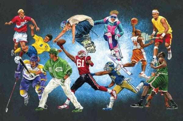 Sports Unlimited 12' x 8' (3,66m x 2,44m)