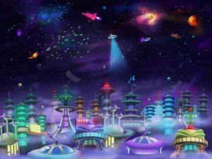 Space City 10.5' x 8' (3,20m x 2,44m)