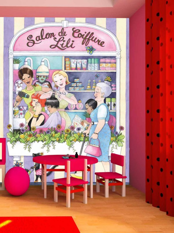 Beauty Salon (French) 6' x 8' (1,83m x 2,44m)