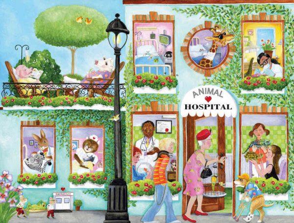 Animal Hospital (English Version) 10.5' x 8' (3,20m x 2,44m)