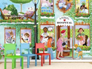 Animal Hospital (English Version) 10.5' x 8' (3,20m x 2,44m)
