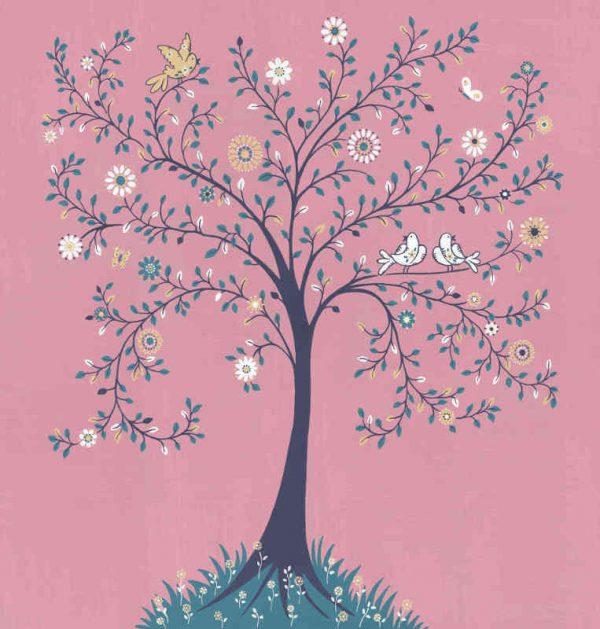 Tree of Life (Pink) 7.5' x 8' (2,29m x 2,44m)