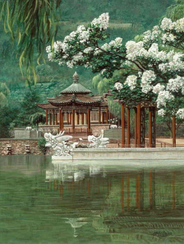 Oriental Garden 6' x 8' (1,83m x 2,44m)