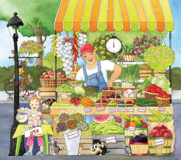 Market Place (French Version) 9' x 8' (2,75m x 2,44m)