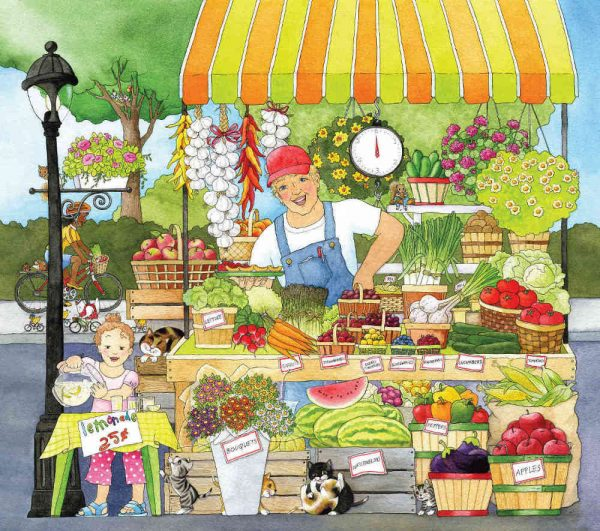 Market Place (English Version) 9' x 8' (2,75m x 2,44m)