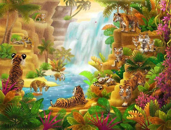 Tigers' Paradise 10.5' x 8' (3,20m x 2,44m)