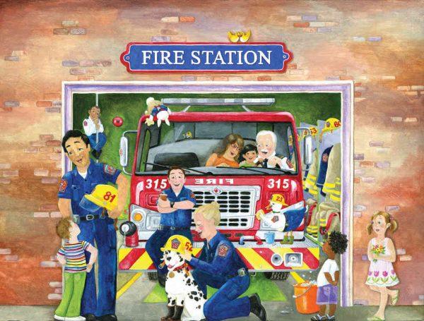 Fire Station (English Version) 10.5' x 8' (3,20m x 2,44m)