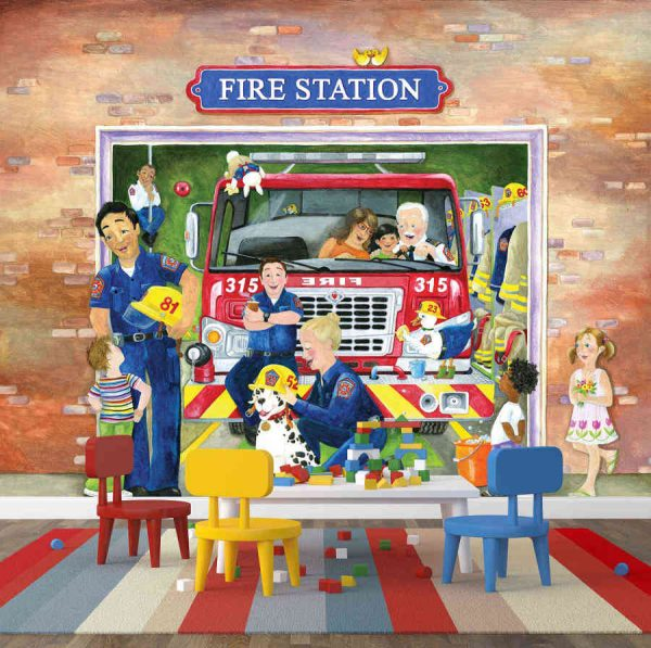 Fire Station (English Version) 10.5' x 8' (3,20m x 2,44m)