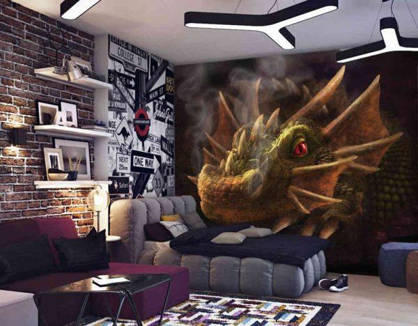 Smokey Dragon 10.5' x 8' (3,20m x 2,44m)