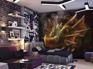Smokey Dragon 10.5' x 8' (3,20m x 2,44m)