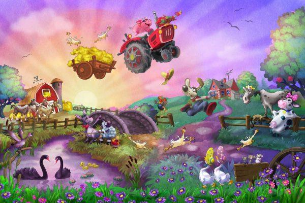 Funny Farm 12' x 8' (3,66m x 2,44m)