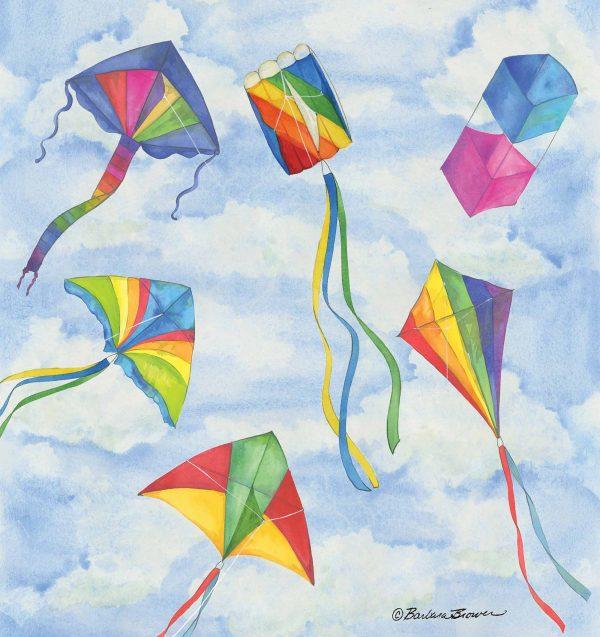 Kites 7.5' x 8' (2,29m x 2,44m)