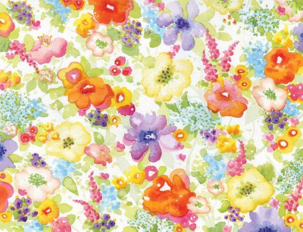 Flowers Explosion 10.5' x 8' (3,20m x 2,44m)