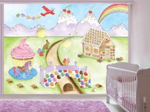 Candy World 10.5' x 8' (3,20m x 2,44m)