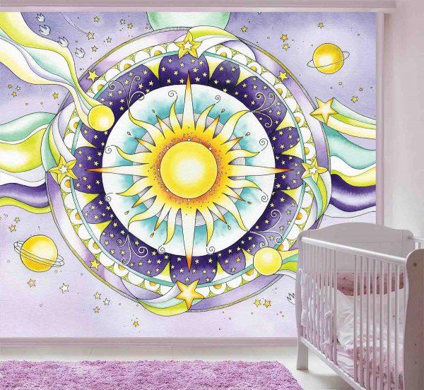 Mandala 9' x 8' (2,75m x 2,44m)