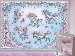 Unicorns 10.5' x 8' (3,20m x 2,44m)