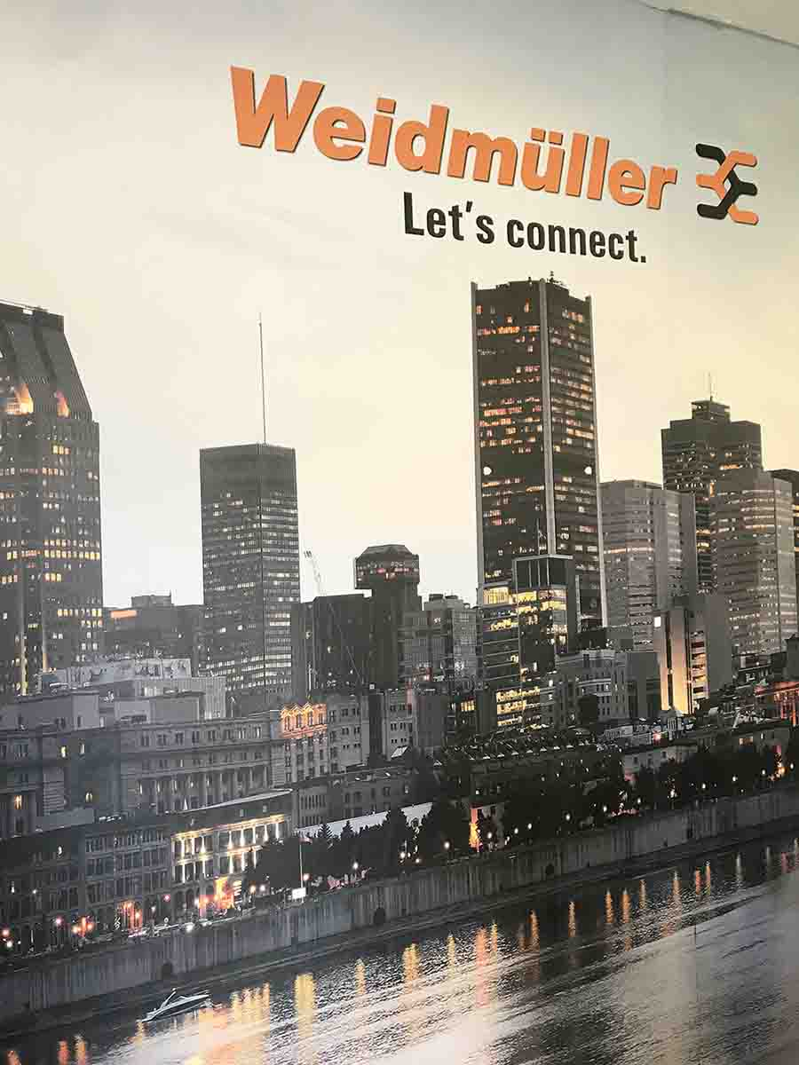 Weidmuller's offices in Laval