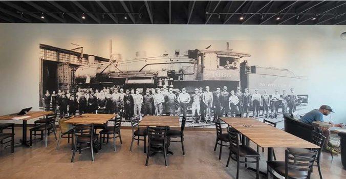 Roasted Rail Coffee House Ltd. à Fargo, Dakota du Nord, États-Unis